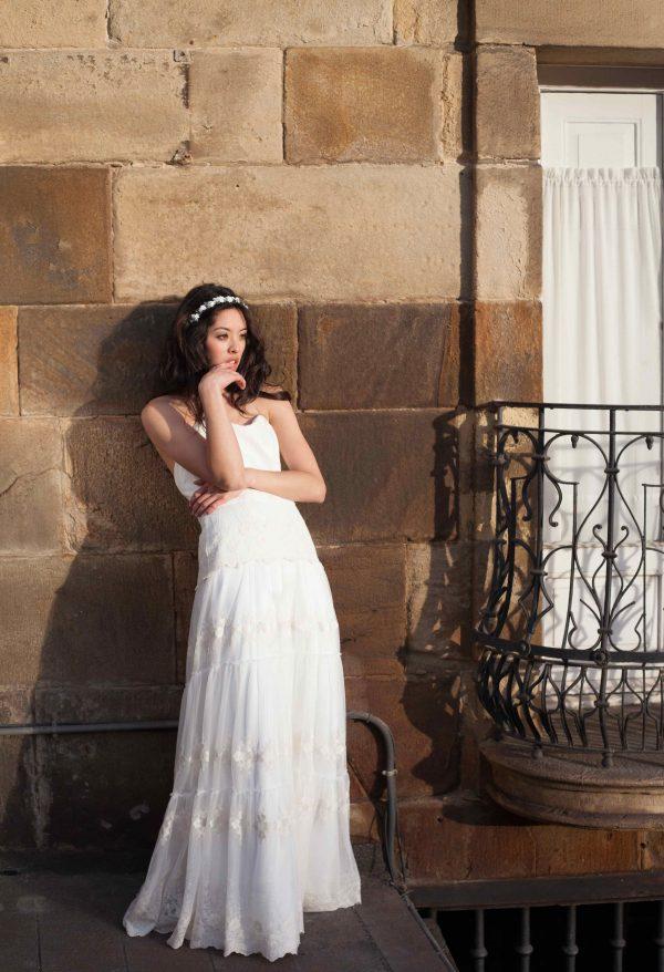 Vestido bohemio bordado