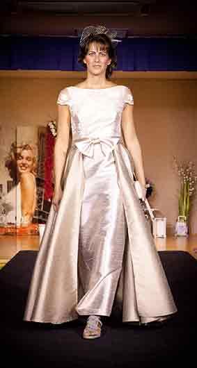 Vestido Lino y seda