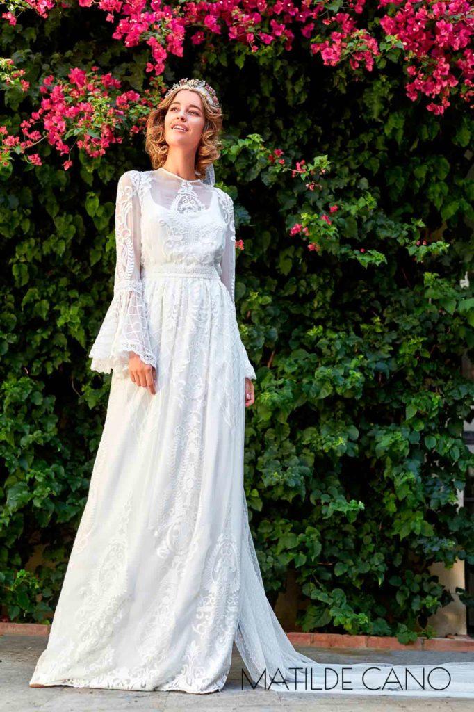 Vestido Novia M.Cano