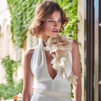 Vestido largo novia