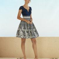 Vestido corto bordado