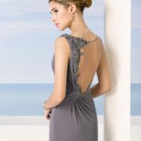 Vestido encaje espalda