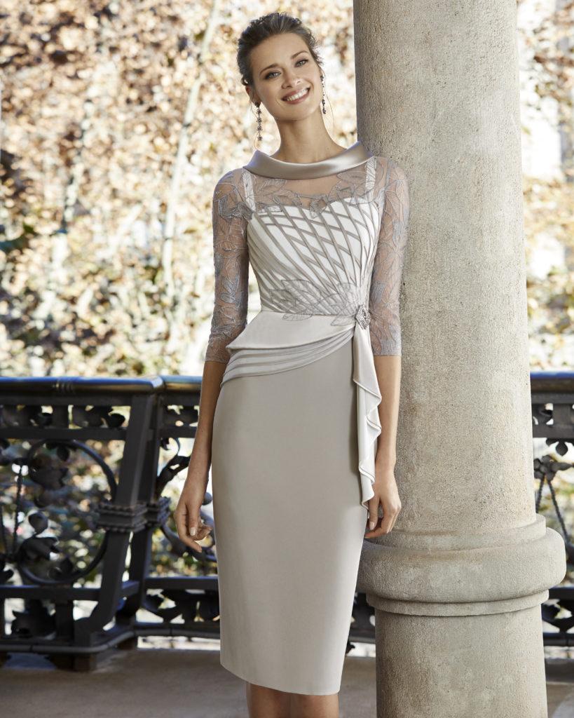 Vestido Madrina corto