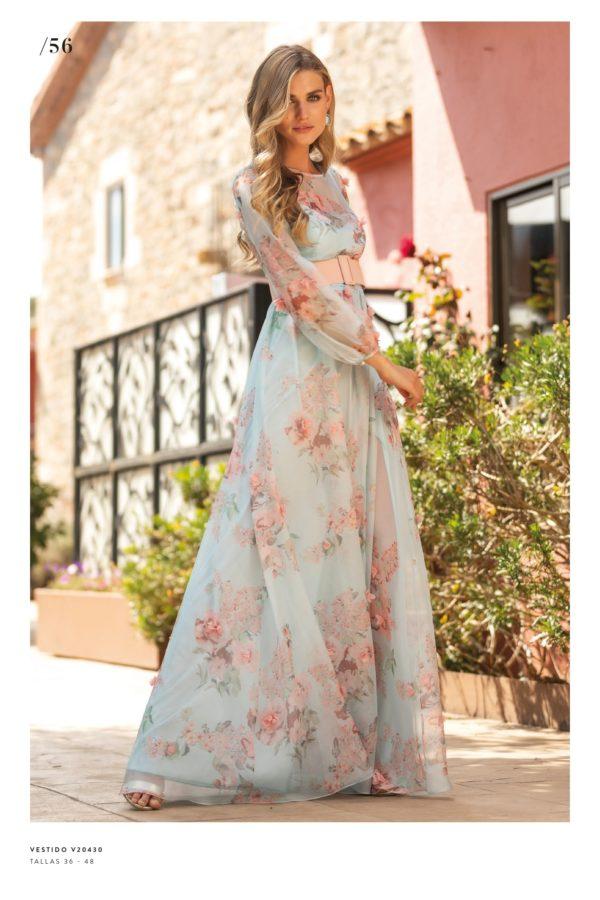 Vestido floral primavera