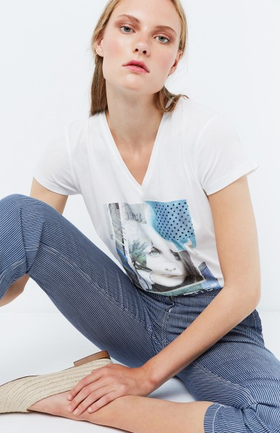 Camiseta pico